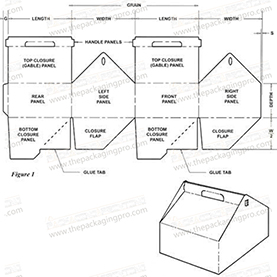 trapezium box template