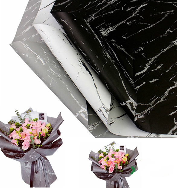 flower-wrapping-paper