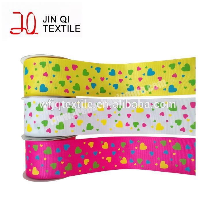 100% Natural Eco-Friendly Custom Printed Cotton Ribbon