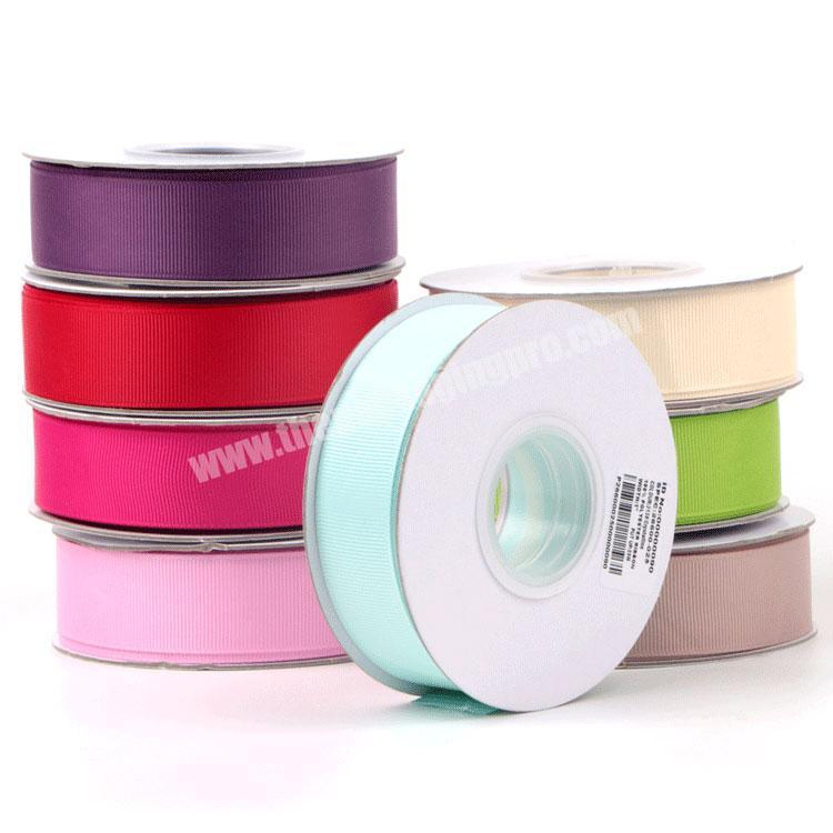 Wholesale 18 inch to 4 inch Chinese high quality  wholesale  handmade all size grosgrain ribbon for all packing occasion