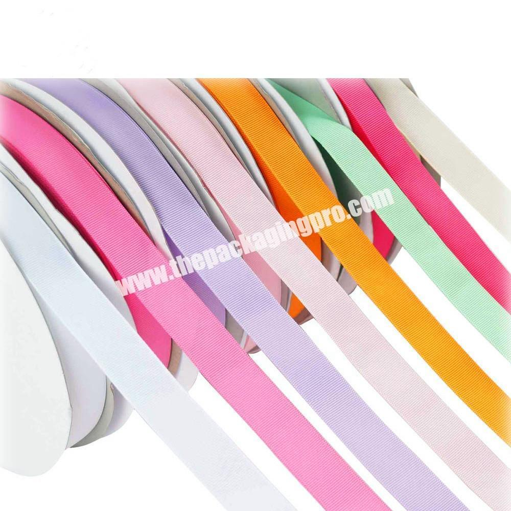 Wholesale 18 inch to  4 inch Chinese wholesale  handmade brown grosgrain ribbon for all occasion