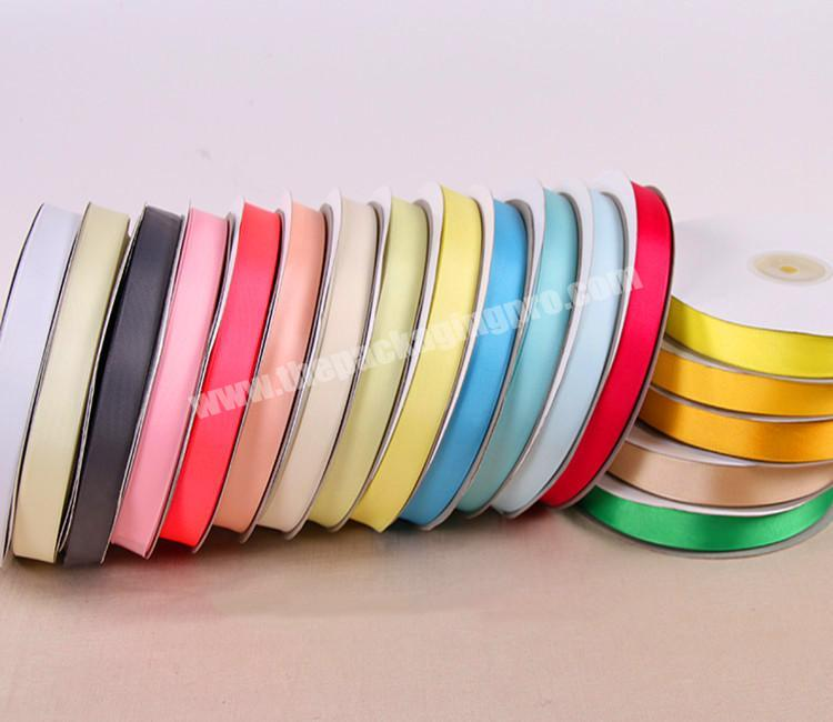 Manufacturer 18 inch to 4 inch  double and single  face 100% polyester satin ribbon for all kind of occasion