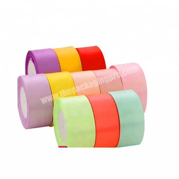 Supplier 18 inch to 4 inch  double and single  face 100% polyester satin ribbon for all kind of occasion