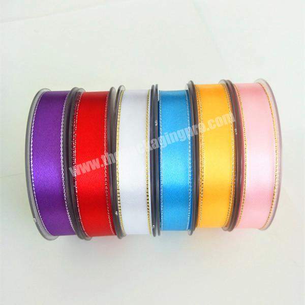 Custom 18inch to 4 inch high quality  double and double  face 100% polyester  colorful satin ribbon for all kind of occasion