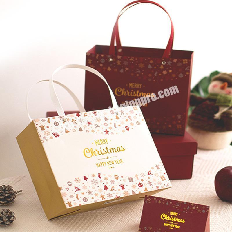 198097266716 Custom print luxury packaging shopping gift paper bag