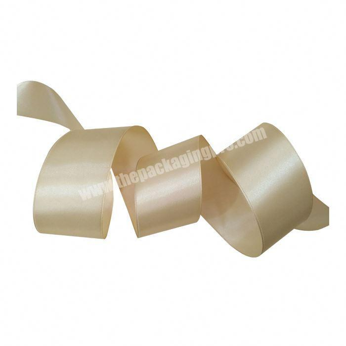 1cm Solid Color Packing Cakes Polyester Satin Ribbon