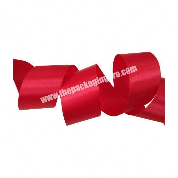 Supplier 2 Inch Double Face Satin Ribbon For Gift Box Packing