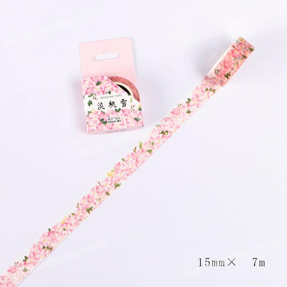 2018 New Design Custom Printed Washi Tape Set, Wholesale Security Tape