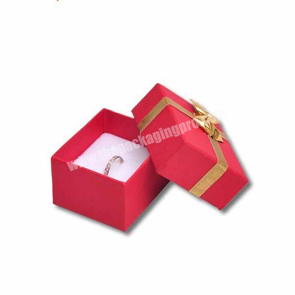 2019 New Design Ring Box Packaging With Custom Logo