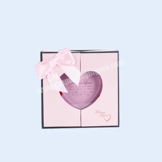 2020 Custom Printing Luxury Double Door Magnetic Closure Gift Packaging Paper Box