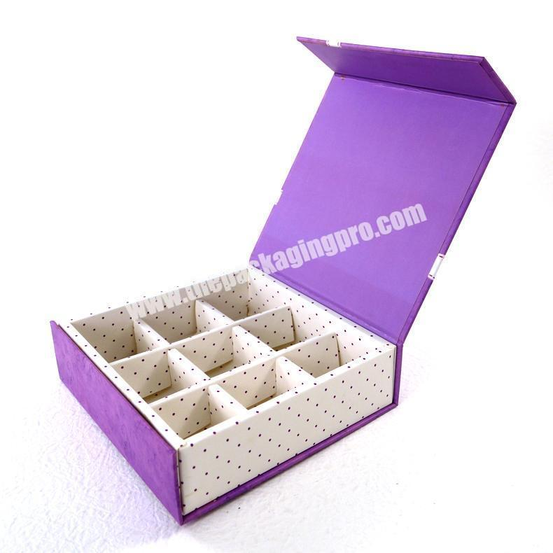 2020 eco friendly paper packaging chocolate manufacturer for sale