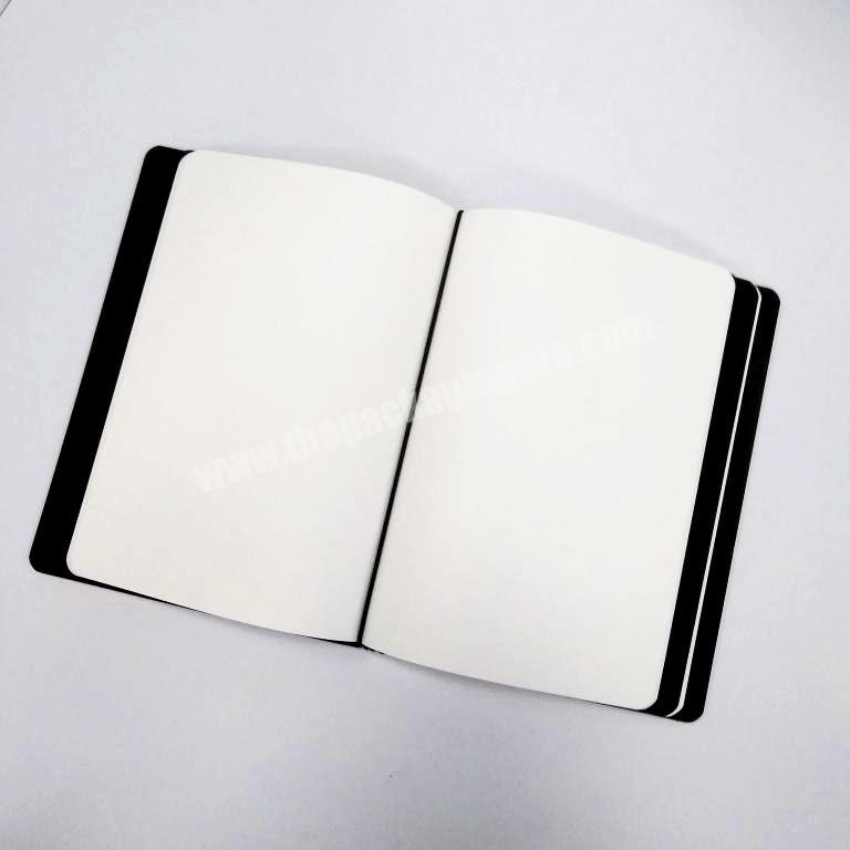 Supplier 2020 High quality business notebook customized diary pu leather planner