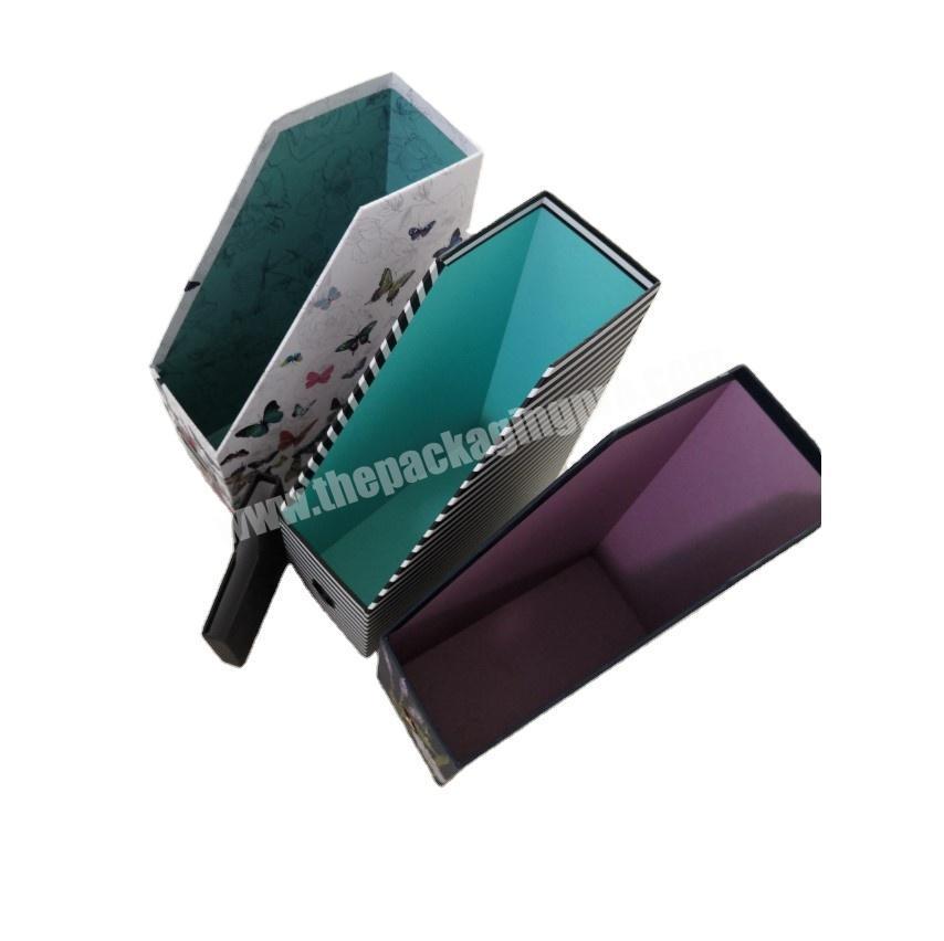 Manufacturer 2020 hot sale rigid cardboard desktop file organizer and file holder