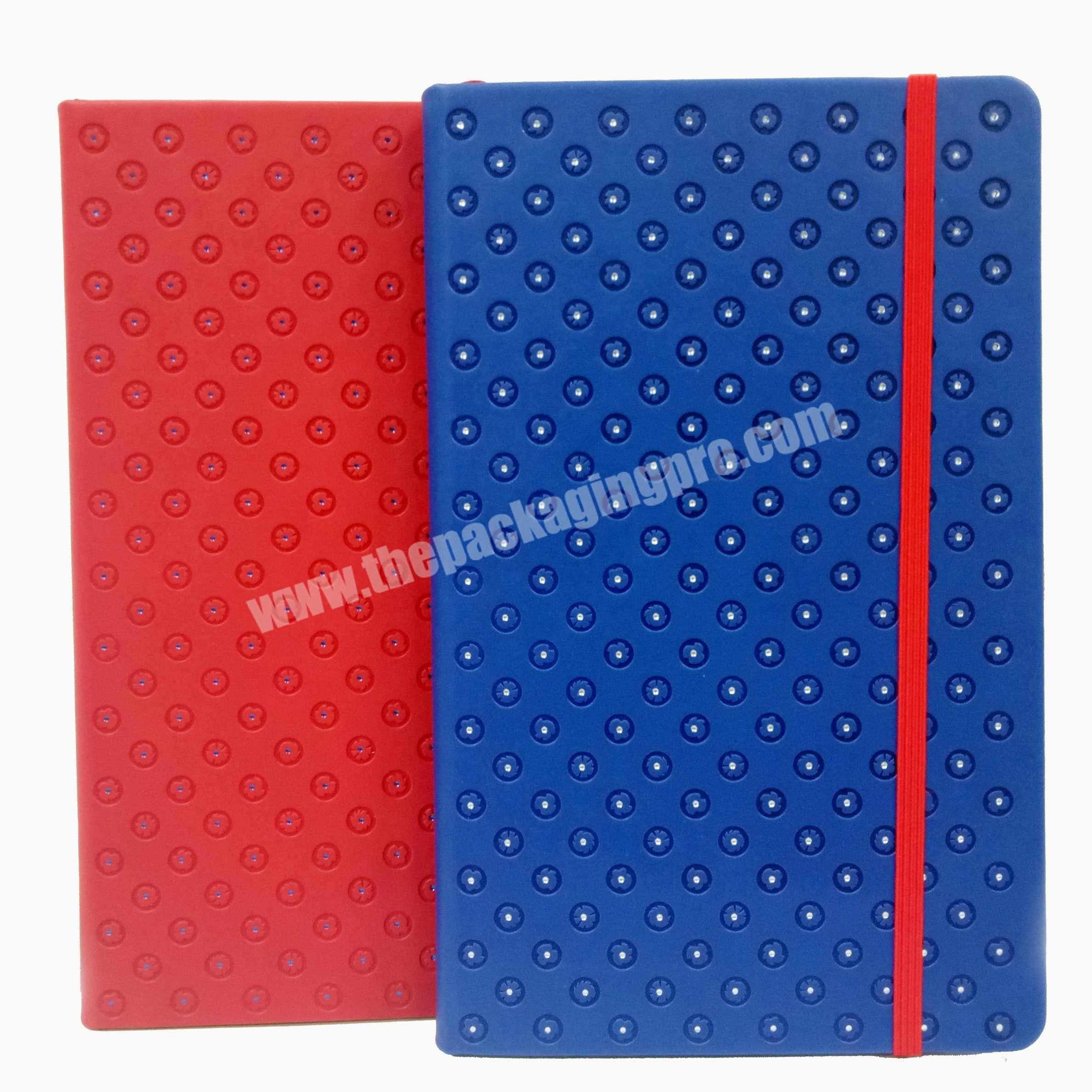 2020 Luxury  Hard Cover A5 PU Notebook For OfficeSchoolGift