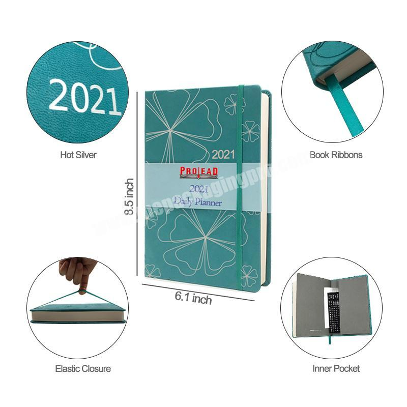Factory 2020 New Custom Logo School Stationery Hardcover Fashion Notebook for College Student Use