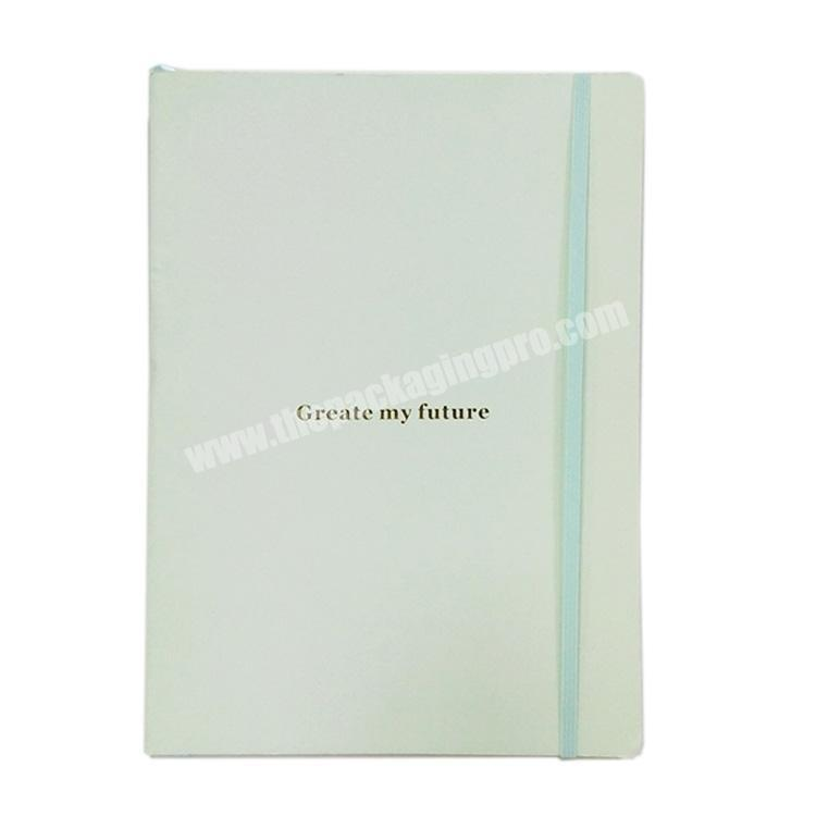 2020 New Design Coated Paper Cover Notebook  Recycle Fashionable Diary