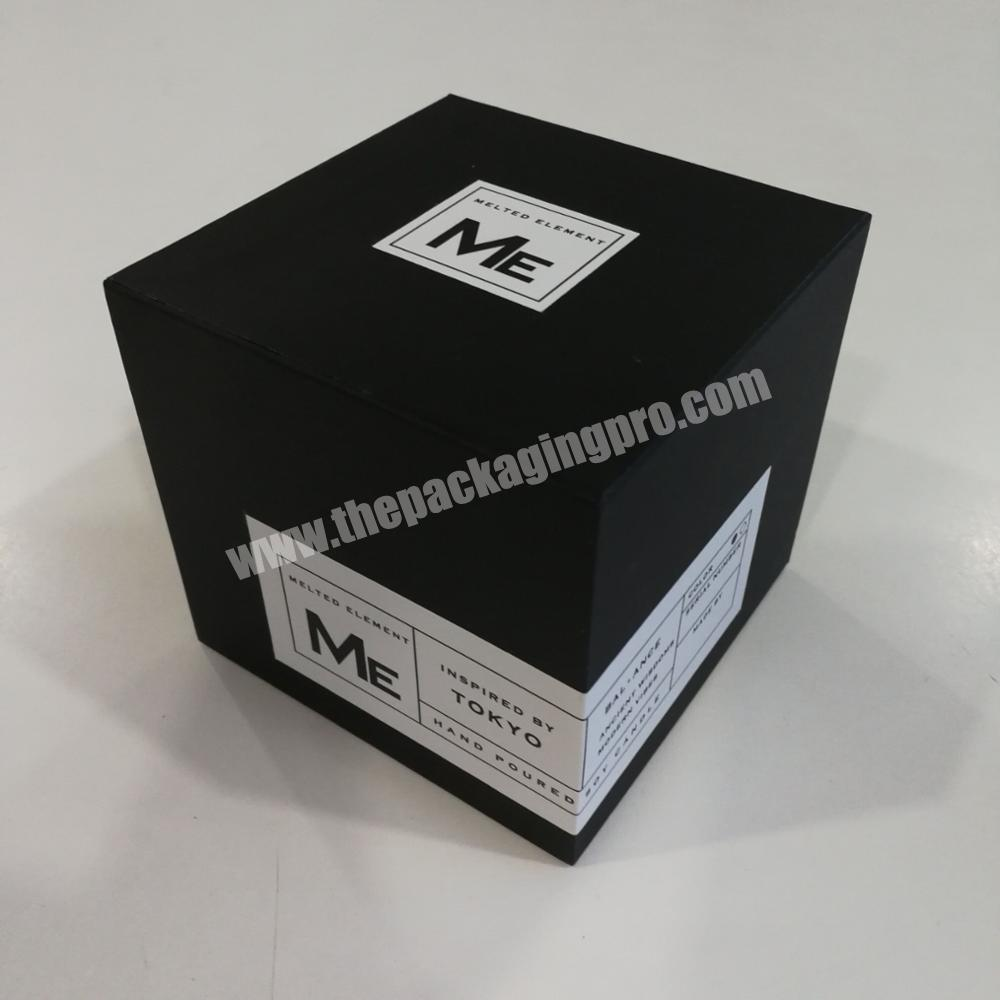 2020 popular candle box cardboard packaging boxes customized paper box