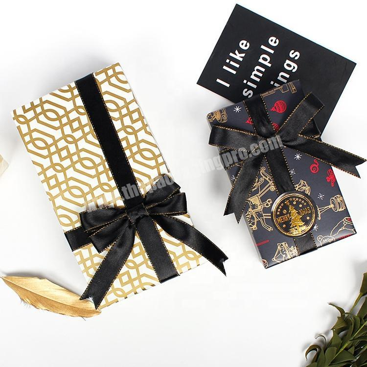 2020 new custom logo printed gold clothing recycled gift packaging tissue wrapping paper with wholesale cost