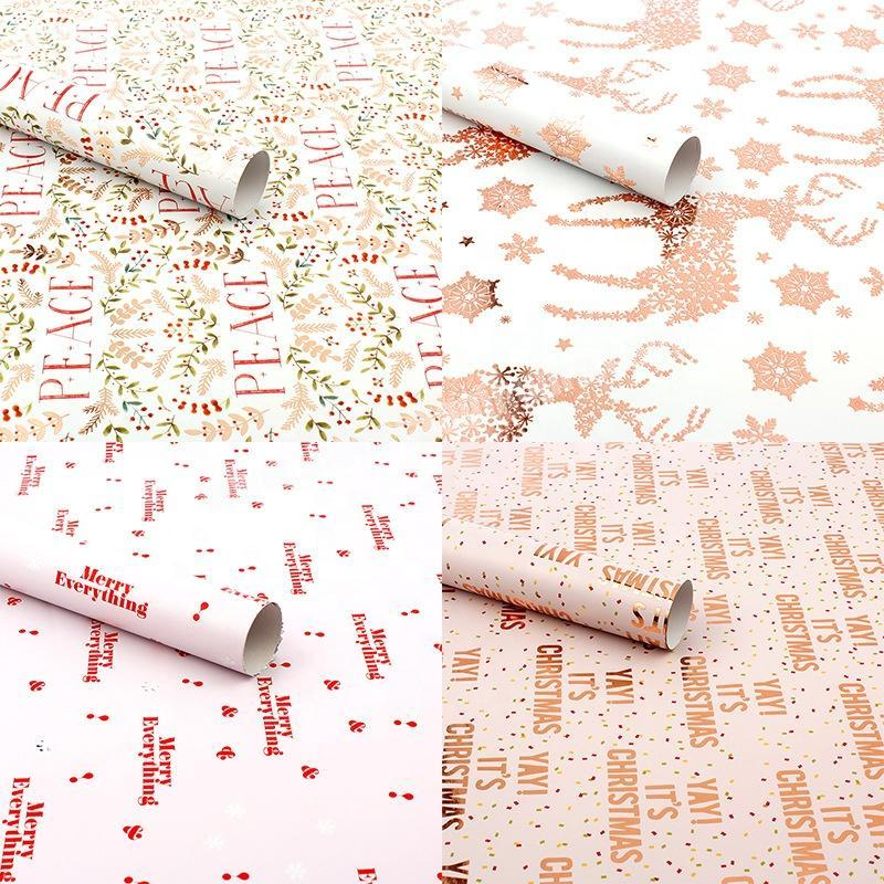 Factory Eco friendly Personalised Glitter Custom Tissue Paper Packaging