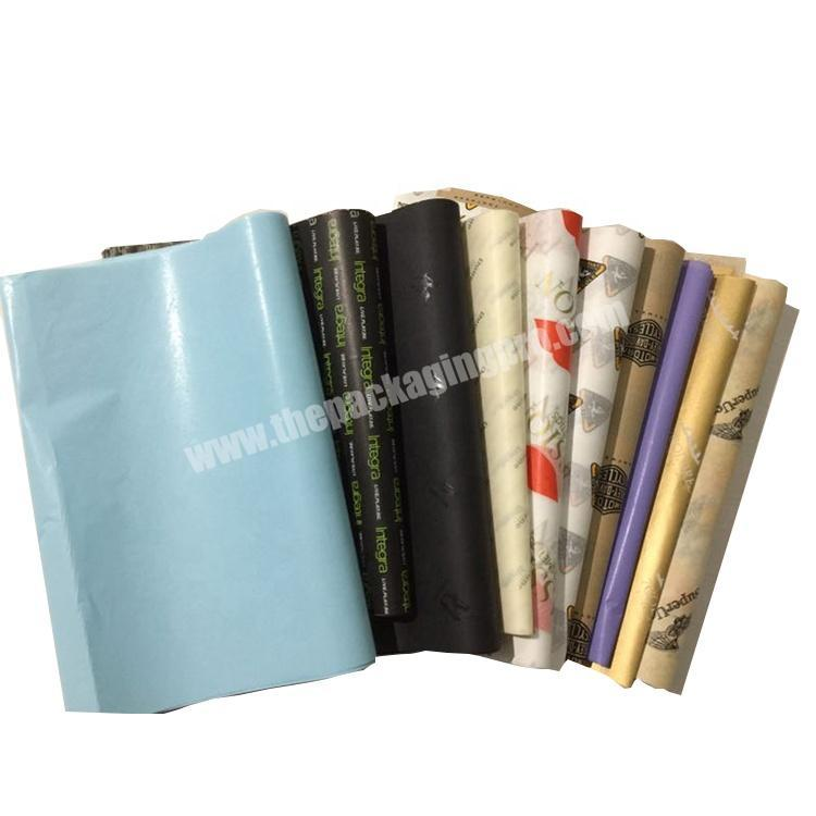Wholesale Decorative Custom Flower Gift Wrapping Paper with logo