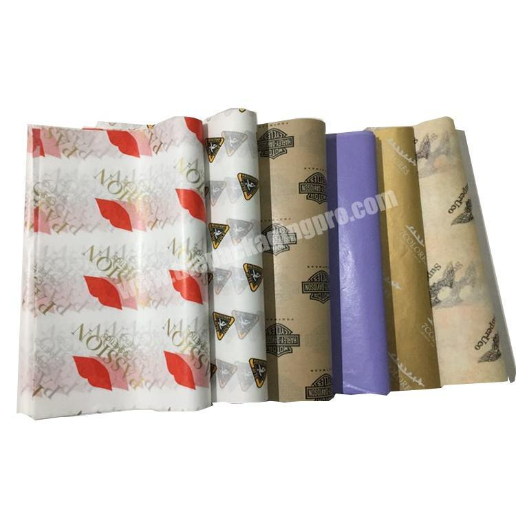 Custom Decorative Custom Flower Gift Wrapping Paper with logo