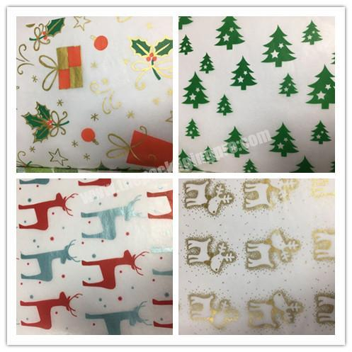 Shop Different Design Biodegradable Gift Tissue Christmas Packaging Paper