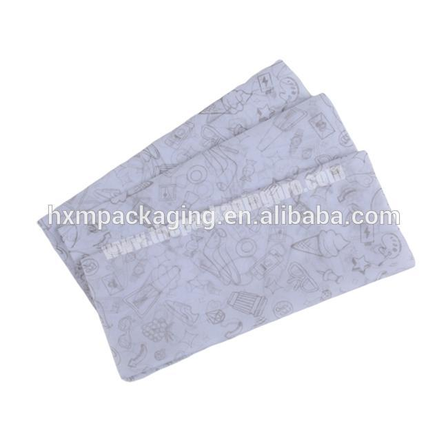 Manufacturer Custom Logo Printing tissue wrapping paper for Packing high quality  Custom  gift wrapping paper