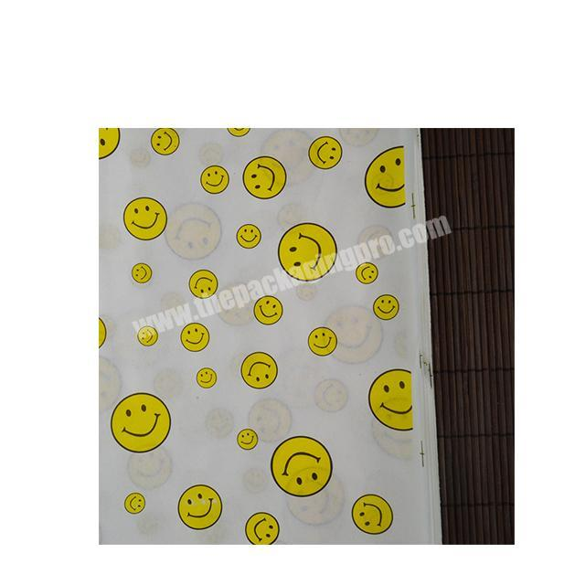Wholesale Factory wholesale food packaging paper fast food wrapping paper wax paper for hamburger fried chicken
