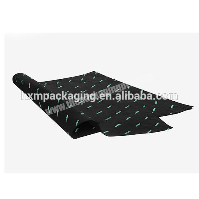 Custom Custom Logo Printing tissue wrapping paper for Packing high quality  Custom  gift wrapping paper