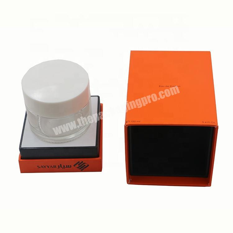 Custom Design Fancy Cosmetic paper Packaging Box For Perfume Bottles