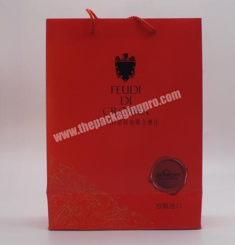 Factory China manufacturer Gift bag with hand tag Gift bag with printing