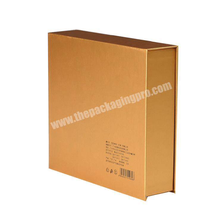 Factory OEM Packing Sets Luxury Design Perfume Packaging Box With Foam