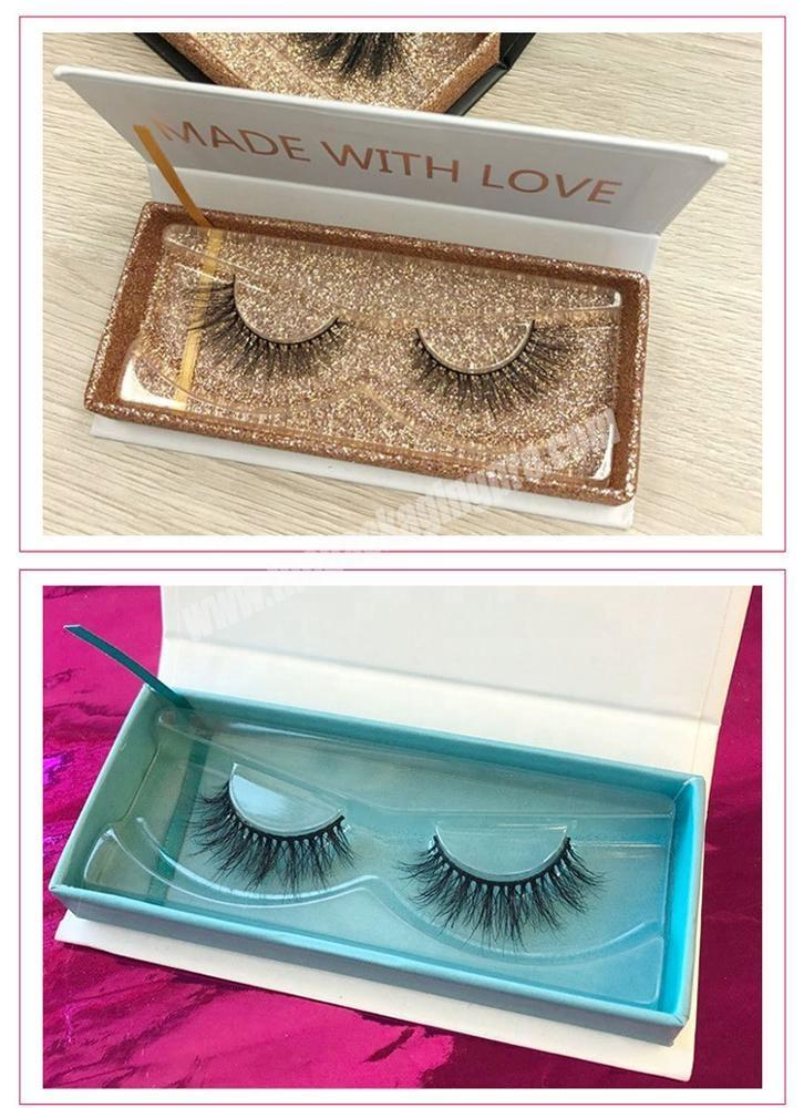 Shop 2019 new luxury custom false mink pink magnetic gift personalized lash paper product eyelash packaging box with private label