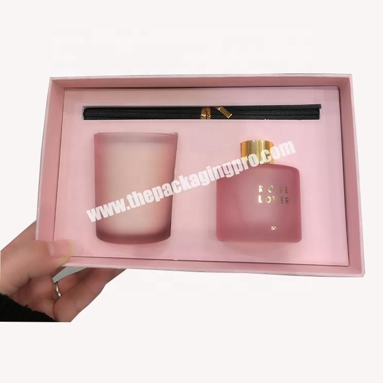 Lower Cost Paper Perfume Display Packing Cosmetic Set Box
