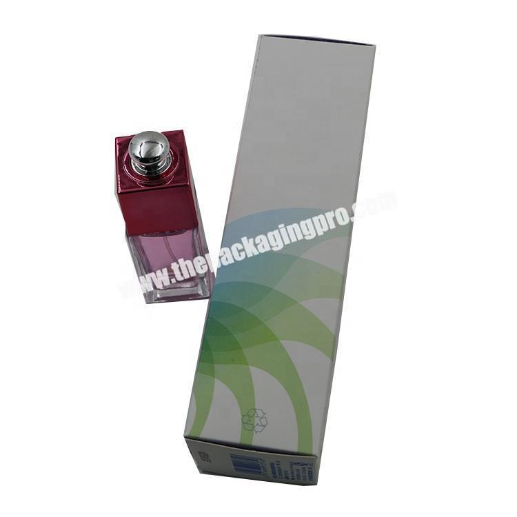 Supplier Luxury Printing 350gsm artcard  Cream Cosmetic Paper Packaging Box