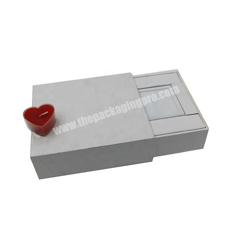 Manufacturer Custom Design Perfume Gift  Matchbox Style Printing Box Cosmetic Packaging