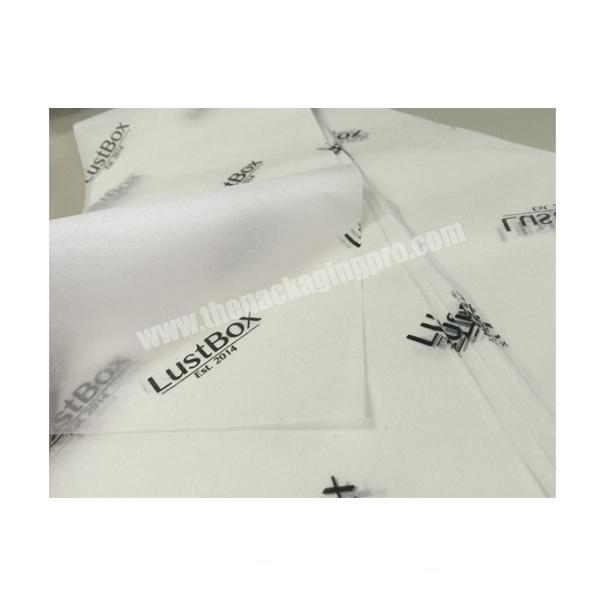 Custom design packaging tissue paper wrapping high quality soft tissue wrapping paper elegant tissue paper wrapping white