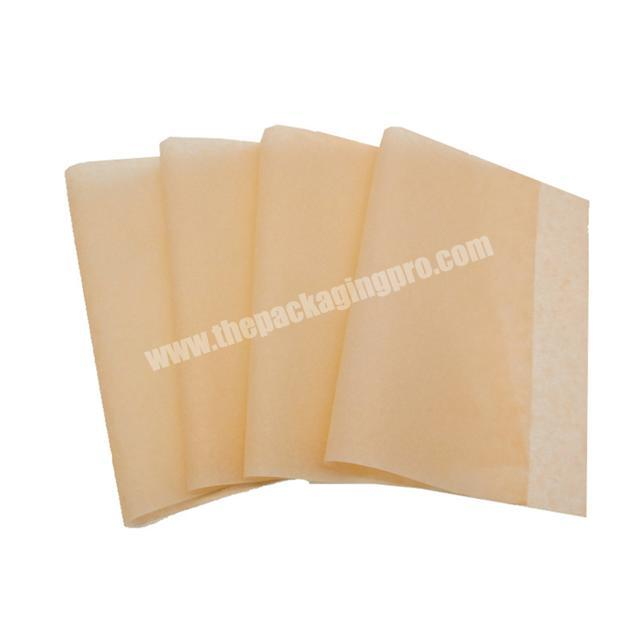 Fashionable custom printed orange plain tissue wrapping paper custom packaging clothes