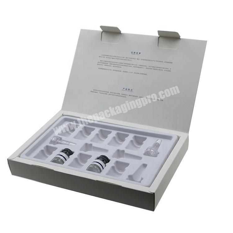 Custom Creative Hyaluronic acid Paper Packaging Perfume Box for 30ML Bottle