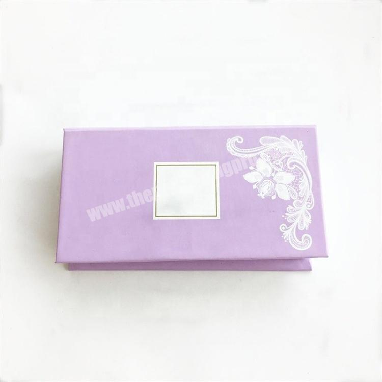 Supplier 2019 new luxury custom false mink pink magnetic gift personalized lash paper product eyelash packaging box with private label