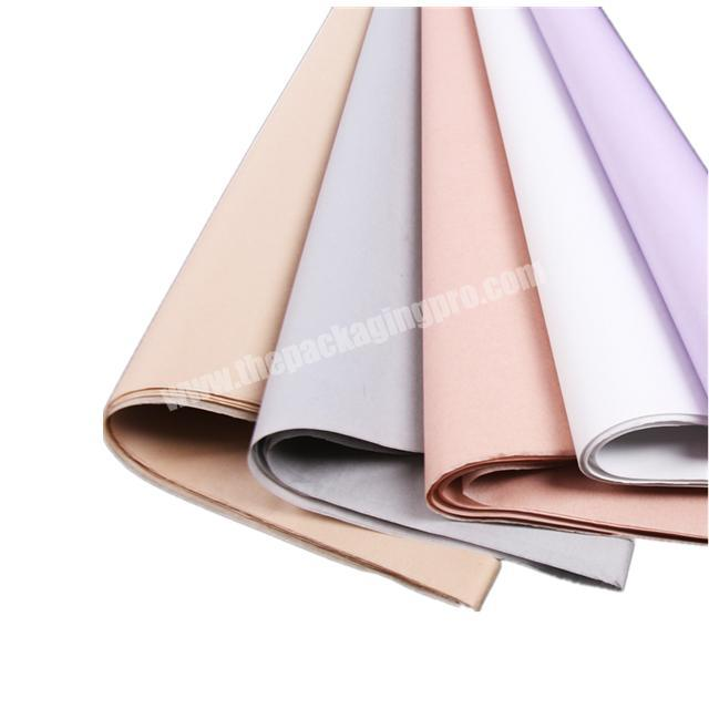China Supplier Custom 17 gsm Super Quality Color Flower Paper Tissue Wrapping