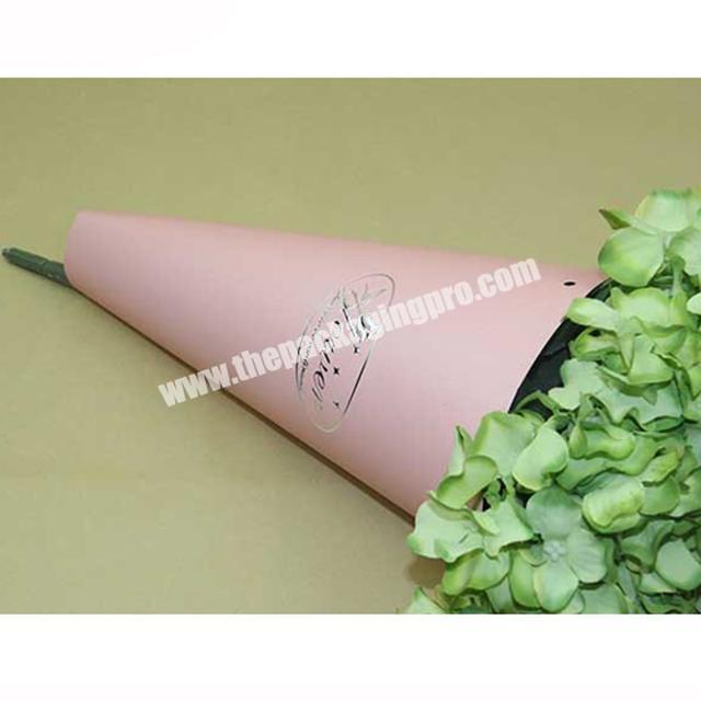 Supplier Christmas custom printed rolling flower brown kraft sheets packaging wrapping papers