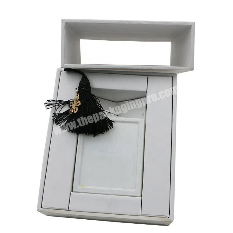 Supplier Custom Design Perfume Gift  Matchbox Style Printing Box Cosmetic Packaging