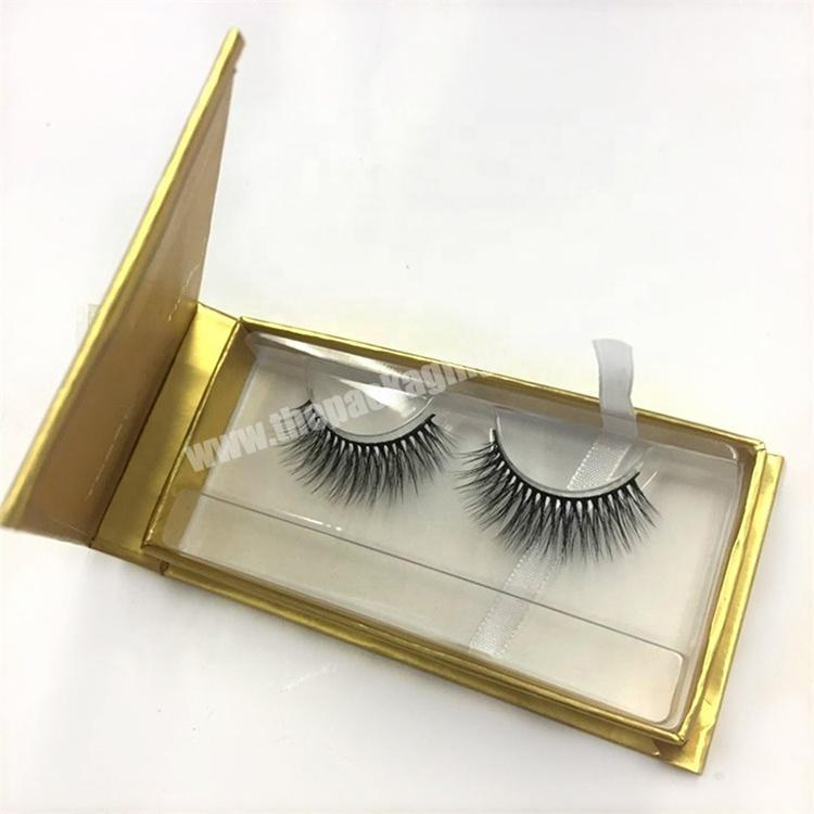 Manufacturer 2019 new luxury custom false mink pink magnetic gift personalized lash paper product eyelash packaging box with private label