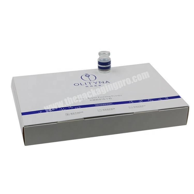 Factory Creative Hyaluronic acid Paper Packaging Perfume Box for 30ML Bottle