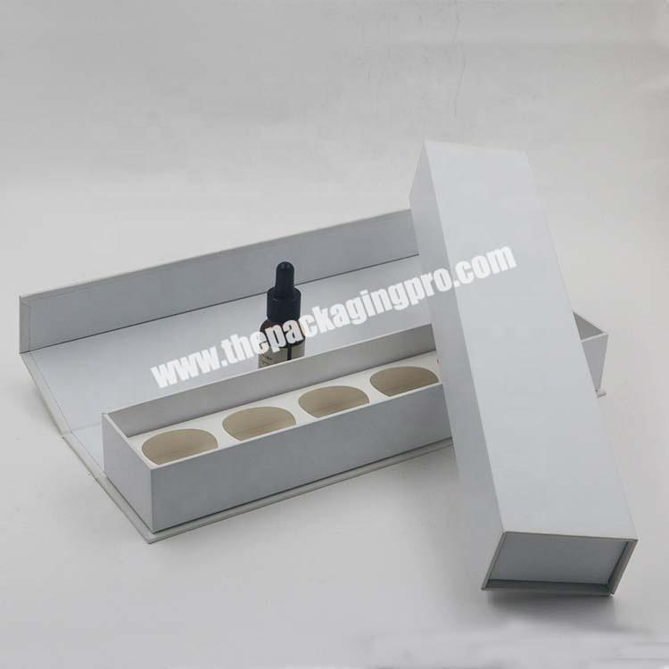Magnetic closure Essentian Oil Cosmetic Bottle Gift Box Packaging Box For Perfume Bottles