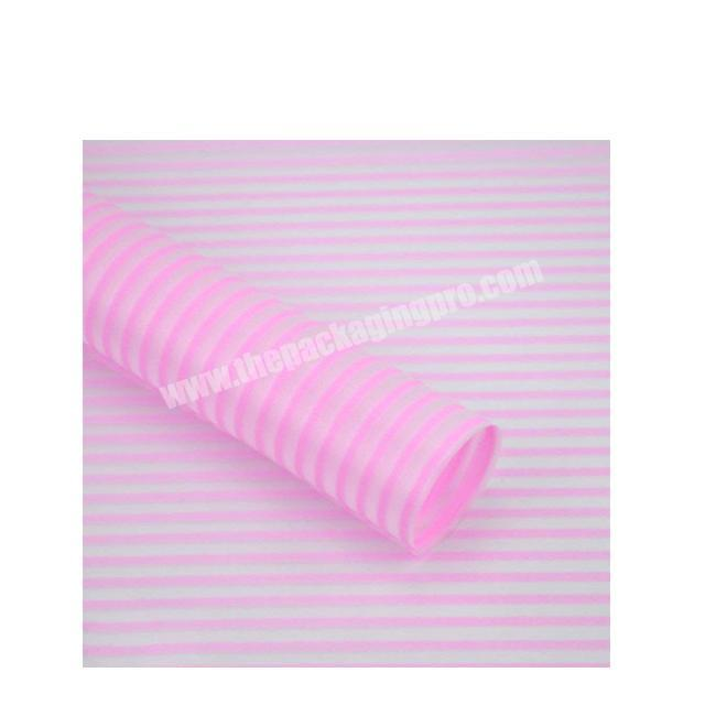 Shop New design Flower wrapping paper waterproof florist paper plastic wrapping film for flower