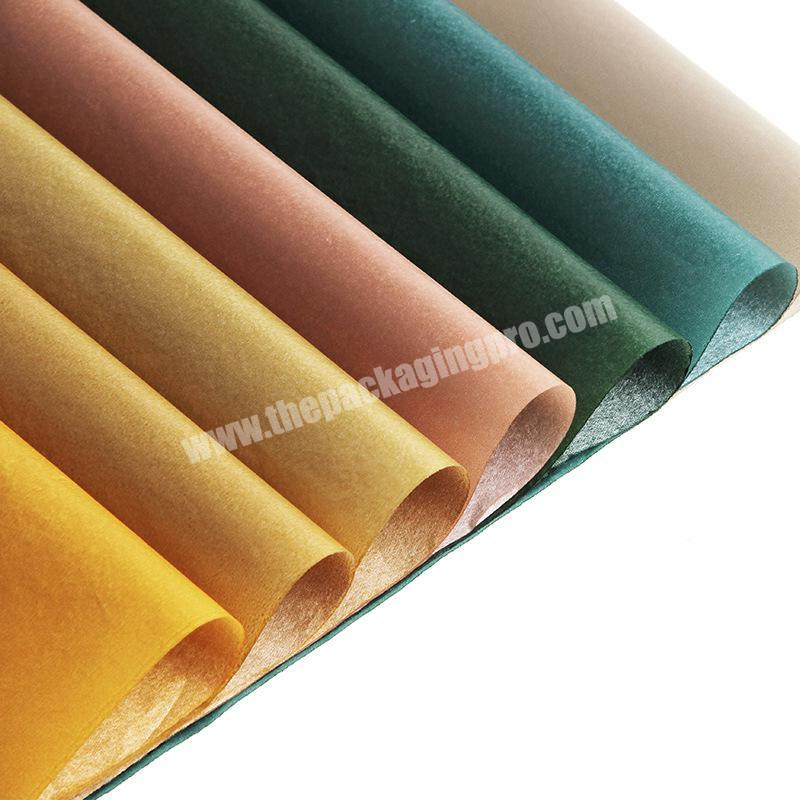 Wholesale Factory professional printed logo high quality 17gsm colour shoes wrapping tissue paper