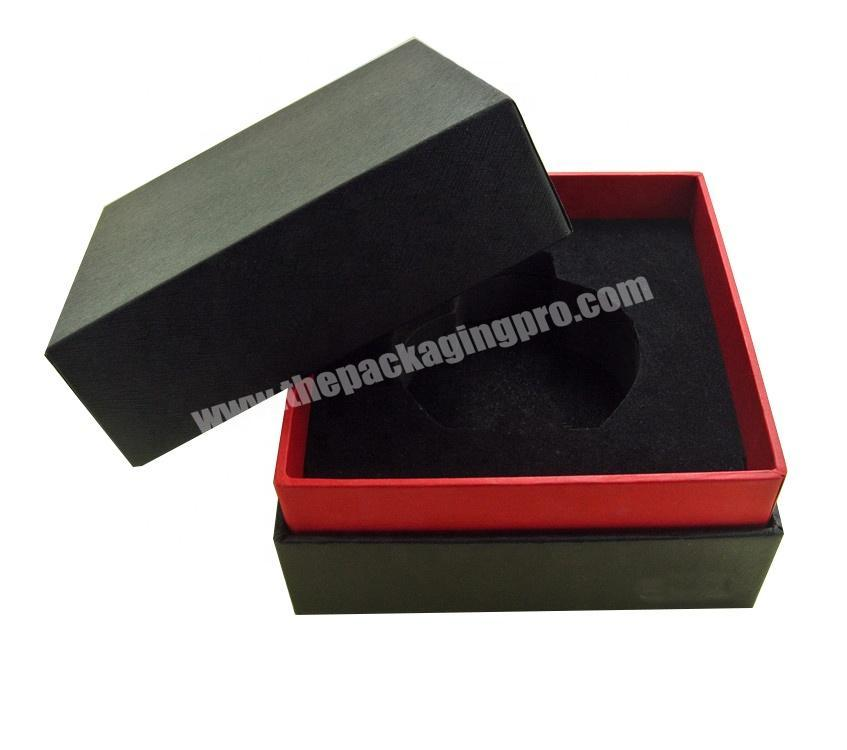 Hot sale Cosmetic Perfume Packaging cardboard gift box with foam insert