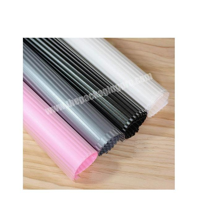 New design Flower wrapping paper waterproof florist paper plastic wrapping film for flower